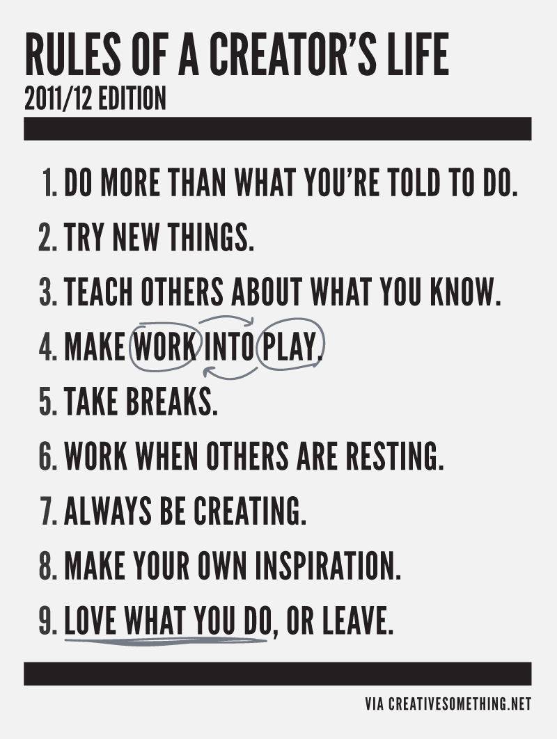 the creative's bible